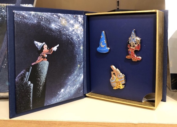 Fantasia Disney Store Japan Pin Set