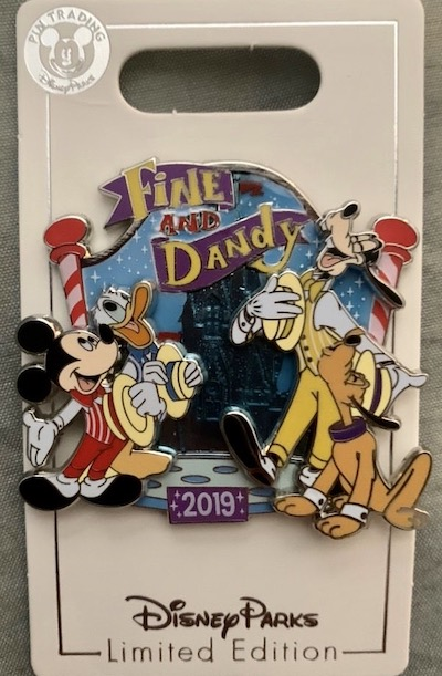 Fine and Dandy Fall 2019 Pin