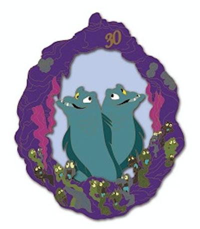 Flotsam & Jetsam - Little Mermaid 30th Anniversary DSSH Pin