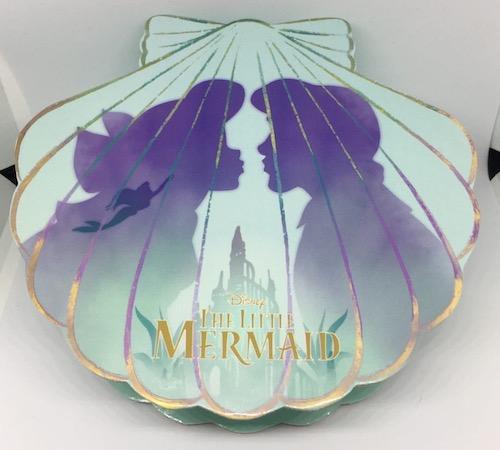 Front of The Little Mermaid 30th Anniversary Shanghai Disneyland Pin