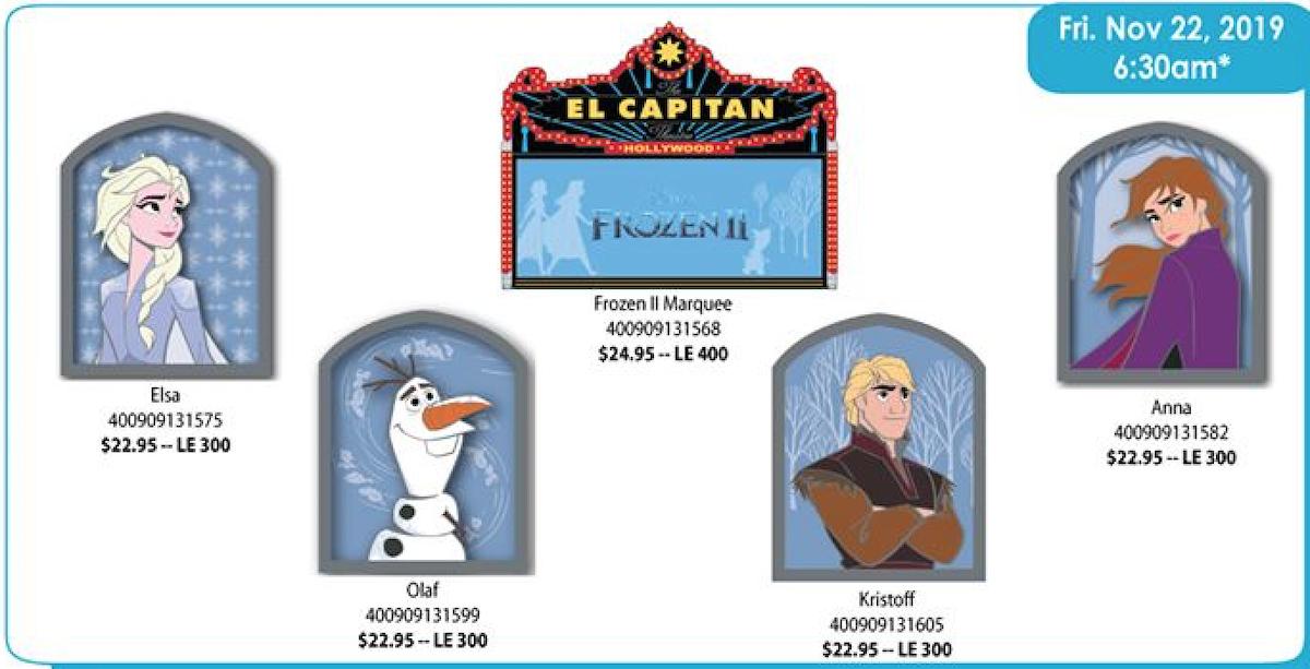 Frozen 2 DSSH Pin Series