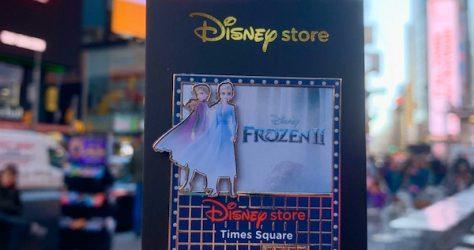 Frozen 2 Disney Store Times Square Pin