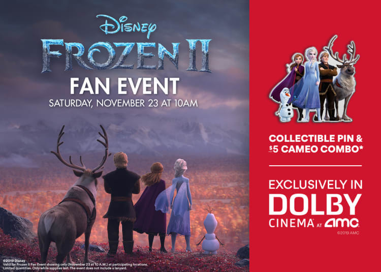 Frozen 2 Fan Event Collectible Pin