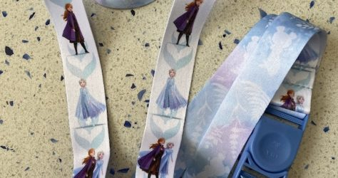 Frozen 2 Reversible Disney Lanyard