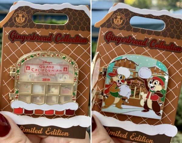 Grand Californian Resort Gingerbread 2019 Disney Pin