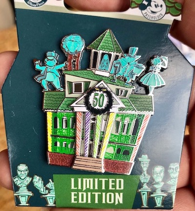 Haunted Mansion Gingerbread 50 Years Pin