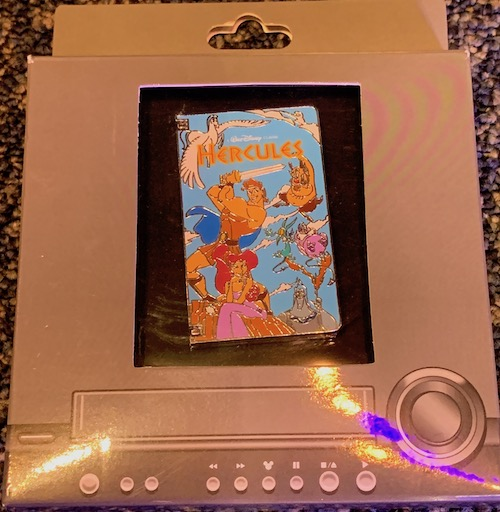 Hercules VHS Tape Pin