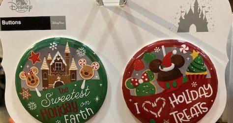 Holiday 2019 Disney Button Set
