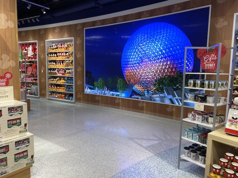 Inside Screen Magic of Disney Orlando Airport
