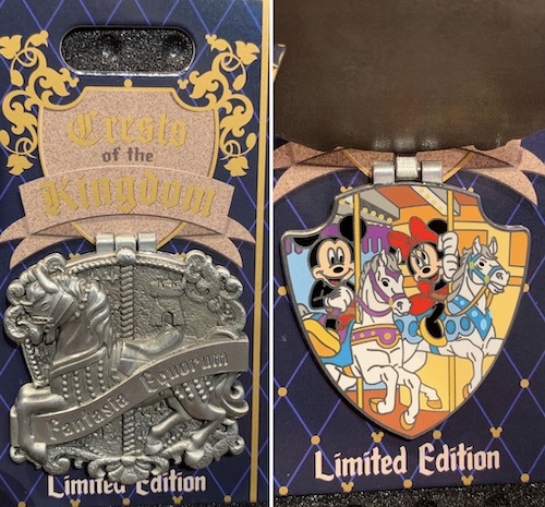 King Arthur Carrousel Crests of the Kingdom Pin