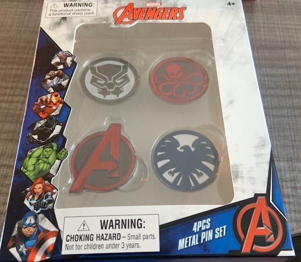 Marvel Avengers Emblems Pin Set - Walgreens
