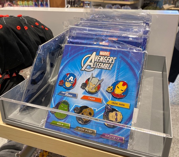 Marvel Pin Set - Magic of Disney Orlando Airport