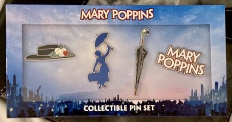Mary Poppins West End Show Pin Set
