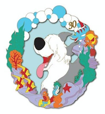 Max - Little Mermaid 30th Anniversary DSSH Pin