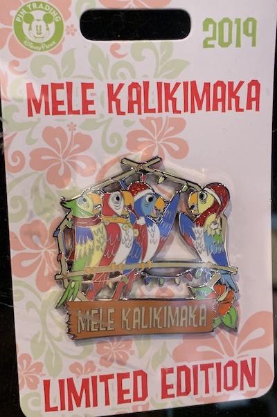 Mele Kalikimaka 2019 Pin Disney Pin