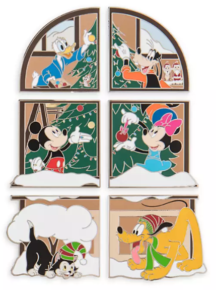 Mickey & Friends Advent Calendar 2019 Disney Pins