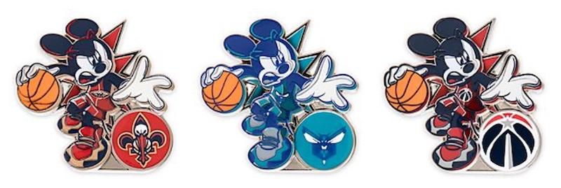 Mickey Mouse NBA Experience Disney Pins