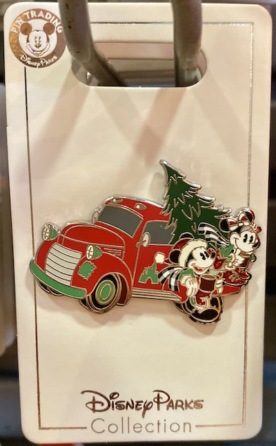 Mickey and Minnie Mouse Holiday 2019 Truck Pin