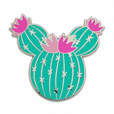 Minnie Mouse Cactus Holiday 2019 Gift Pin