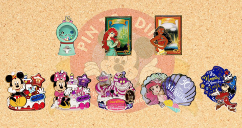 November 2019 HKDL Limited Edition Pin Releases