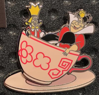Queen of Hearts WDW Passholder 2019 Pin