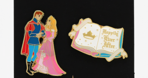 Sleeping Beauty Happily Ever After BoxLunch Disney Pin Set