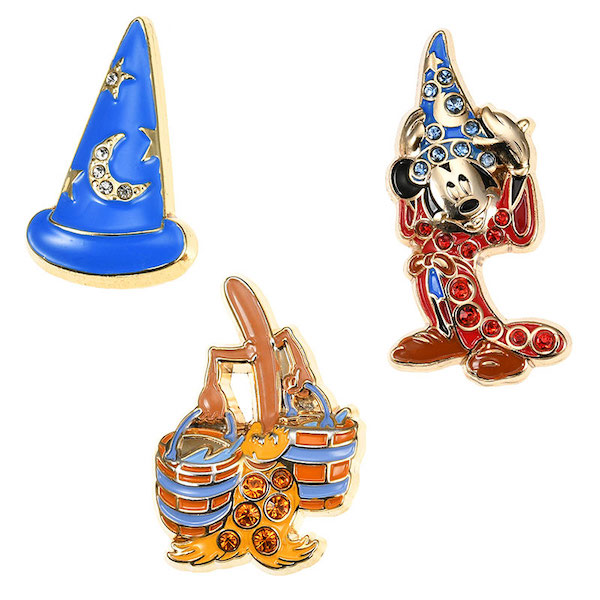 Sorcerer Mickey Disney Store Japan Pins