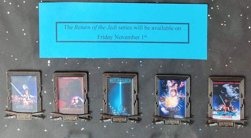 Star Wars Return of the Jedi Poster Pins - Lucasfilm Studios