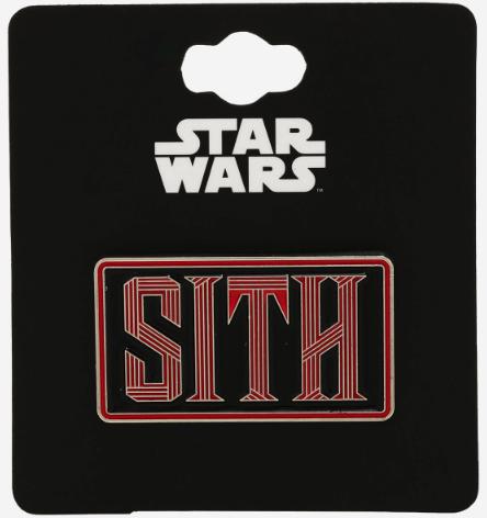 Star Wars Sith BoxLunch Pin