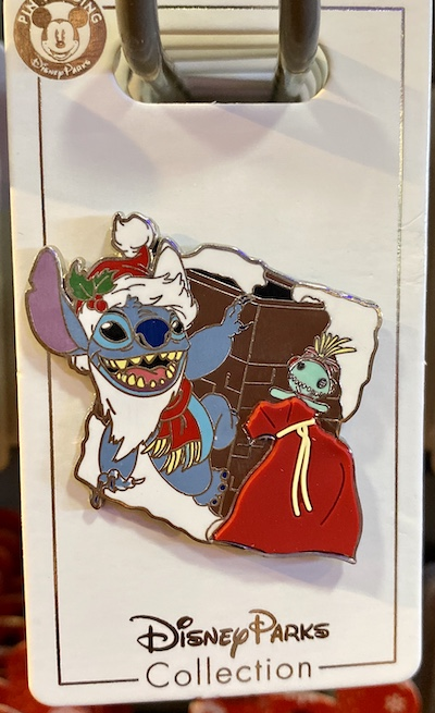 Stitch Holiday 2019 Disney Pin