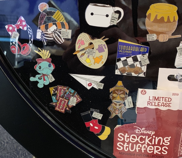 Stocking Stuffers Mystery Pin Set