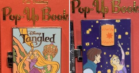 Tangled-Pin-Trading-Pop-Up-Book-Pin