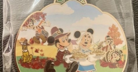 Thanksgiving 2019 Disneyland Hotel Pin