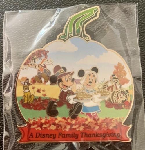 Thanksgiving 2019 Disneyland Hotel Pin