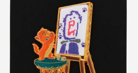 The Aristocats Toulouse Paint Lenticular BoxLunch Disney Pin