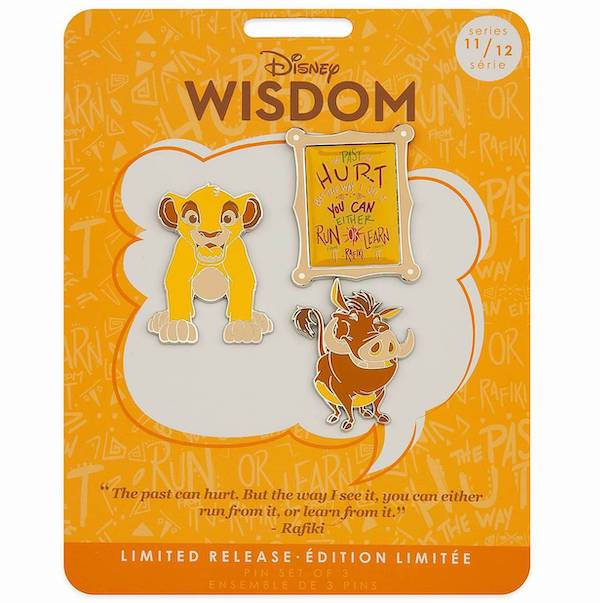 The Lion King Disney Wisdom Pin Set