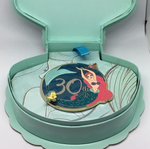 The Little Mermaid 30th Anniversary SDR Pin Box