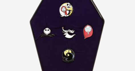 The Nightmare Before Christmas Coffin Pin Set