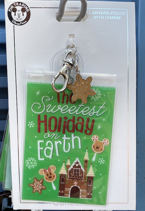 The Sweetest Holiday on Earth Lanyard Pouch