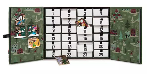 Tis the Season Advent Calendar 2019 Disney Pins