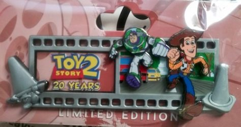 Toy Story 2 Filmstrip 20 Years WDI Pin