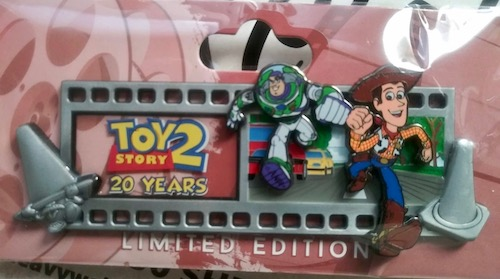 Toy Story 2 Filmstrip 20 Years WDI Pin