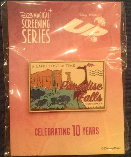 UP 10 Years Magical Screening Disney D23 Pin