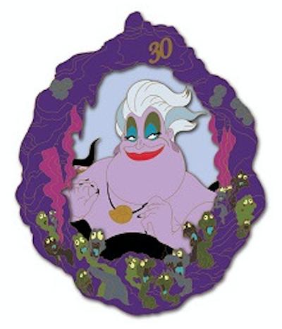 Ursula - Little Mermaid 30th Anniversary DSSH Pin