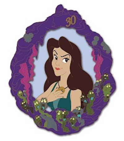 Vanessa - Little Mermaid 30th Anniversary DSSH Pin