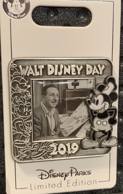 Walt Disney Day 2019 Pin
