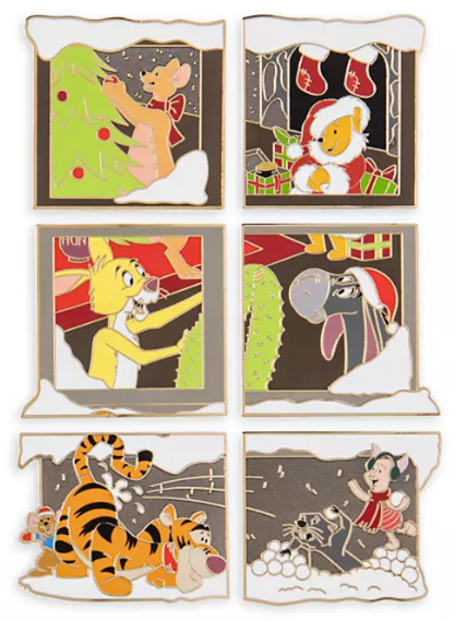 Winnie the Pooh Advent Calendar 2019 Disney Pins