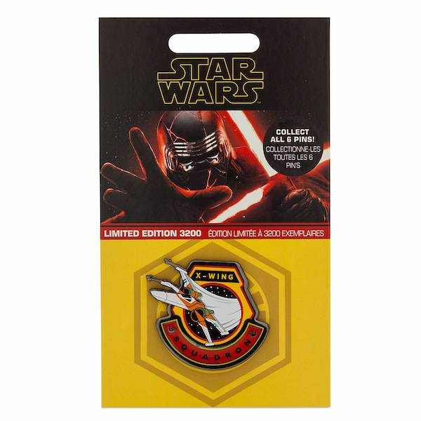 X-Wing Fighter Star Wars The Rise of Skywalker shopDisney Pin