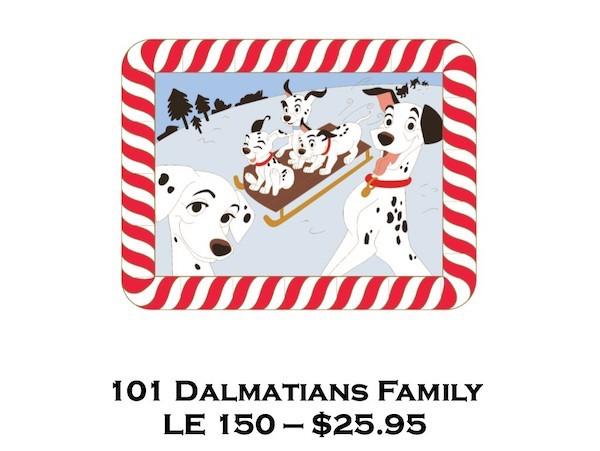 101 Dalmatians Family Surprise Pin Release