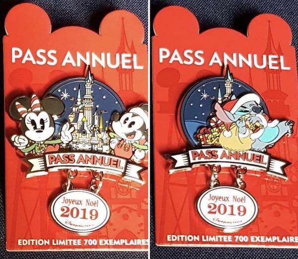 Annual Pass December 2019 DLP Pins